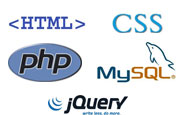 HTML - CSS - PHP - MYSQL - JQUERY: programming languages that i use to create website