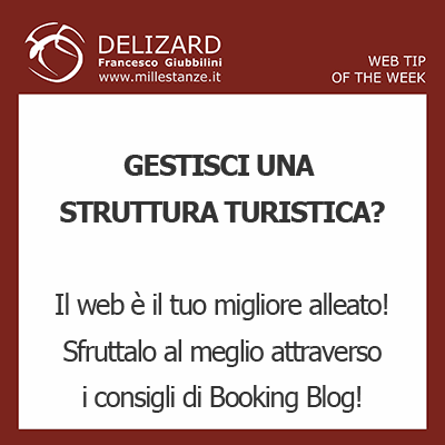 Web Tips - Booking Blog e il web marketing turistico