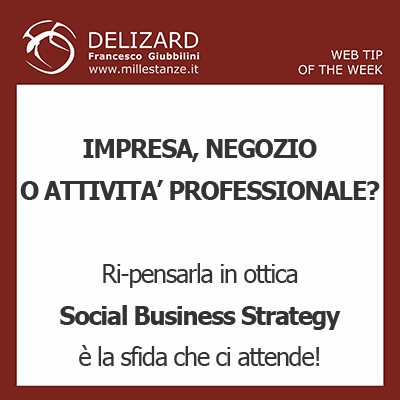 DELIZARD WEB TIP - Che cosa è la Social Business Strategy?