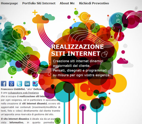 Landing Pages - Realizzazione siti internet dinamici