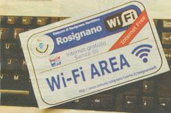 Wi-Fi gratuita a Rosignano Marittimo