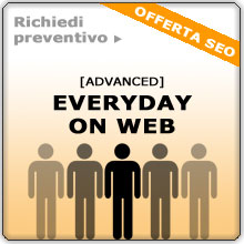 Offerta SEO Advanced: ottimizzazione onpage, iscrizione del sito a GoogleMap, Directory, Bookmark, creazione blog, article marketing e social news - Delizard Siti Web, Livorno, Toscana