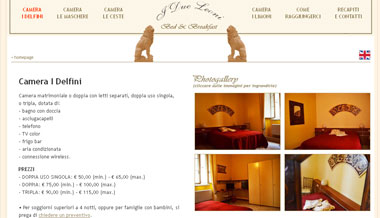 Bed and Breakfast I 2 Leoni | Firenze - Toscana