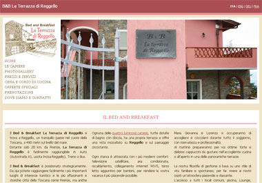 Bed and Breakfast La Terrazza di Reggello | Reggello, Firenze - Toscana
