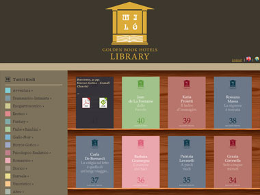 Online eBooks Library reserved to Hotel's customers | Livorno, Toscana - Barcellona