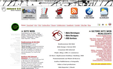Delizard: Creation Web Site, Web Design, Web Development, Web Reporter, Ebook | Rosignano Solvay, Livorno - Toscana