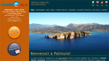 Palinuro Relax - b&b, apartments, rooms | Palinuro - Campania