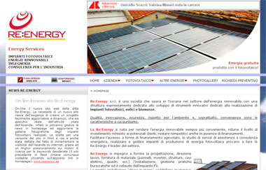 Re:Energy -> Photovoltaic - Renewable Energy | Rosignano Solvay, Livorno - Toscana