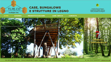 TI.PE.CO: Wooden House and Bungalows | Cecina, Livorno, Pisa - Toscana