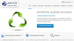 Sito web Wordpress per Anccp - Livorno, Toscana | Sito web professionale in Wordpress