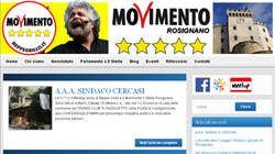 Blog Wordpress per Movimento 5 Stelle Rosignano - Rosignano Solvay, Livorno, Toscana | Sito web professionale in Wordpress