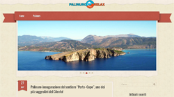 Blog Wordpress per Bed and Breakfast Palinuro Relax - Palinuro, Salerno, Campania | Sito web professionale in Wordpress