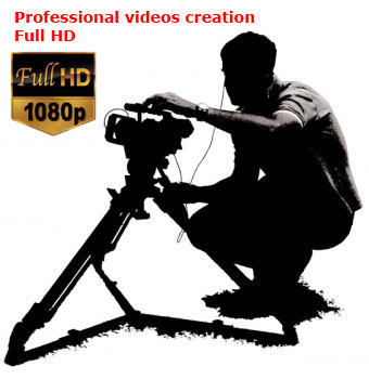 Professional videos creation Full HD - Video production, videoclips, promotional and corporate videos, videos for weddings and events